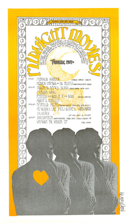 Nocturnal Dream Shows - Midnight Movies, Sylvester on stage February, 1971