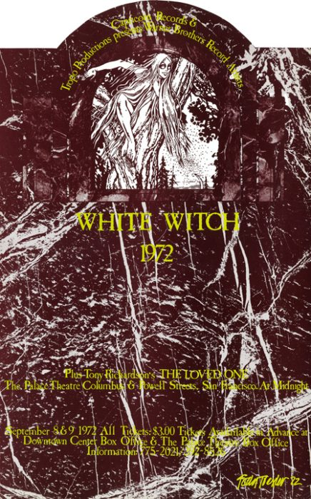 #42 - Tropo Productions & Nocturnal Dream Shows - White Witch Live on Stage in Concert - Midnight Films September, 1972